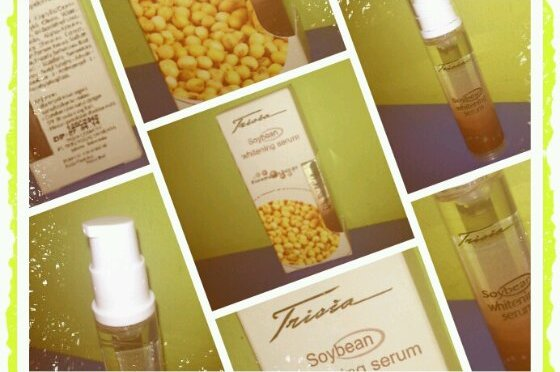REVIEW: Trisia Soybean Whitening Serum