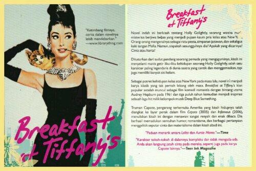 BOOK: Breakfast at Tiffany's