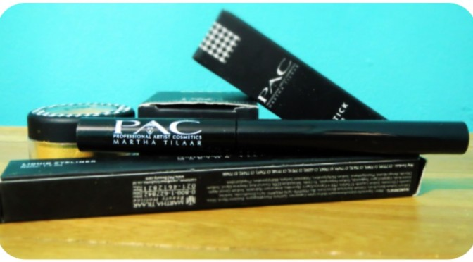 REVIEW: PAC Liquid Eyeliner Silver Diva