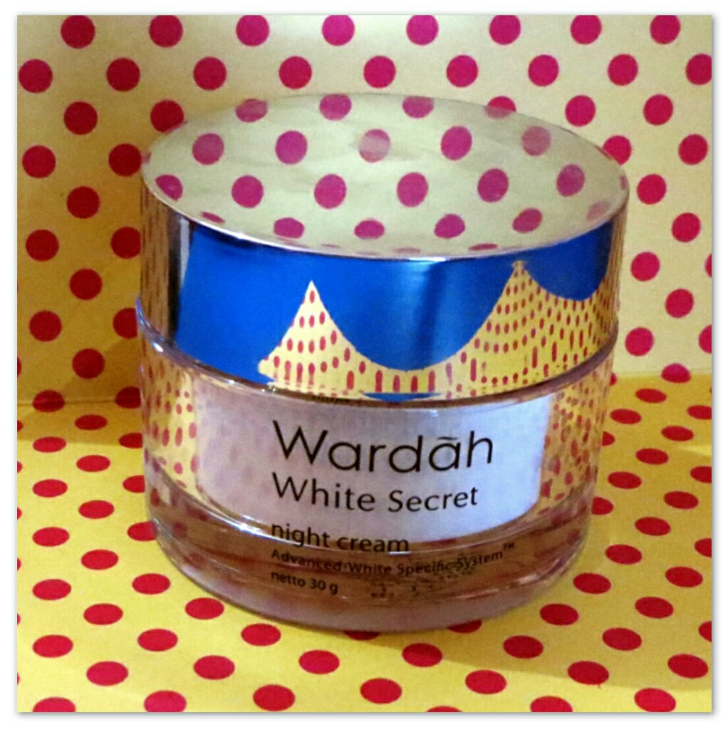 Review Wardah White Secret Night Cream Re Mark A Blog Lightening Step 2 30gr Image