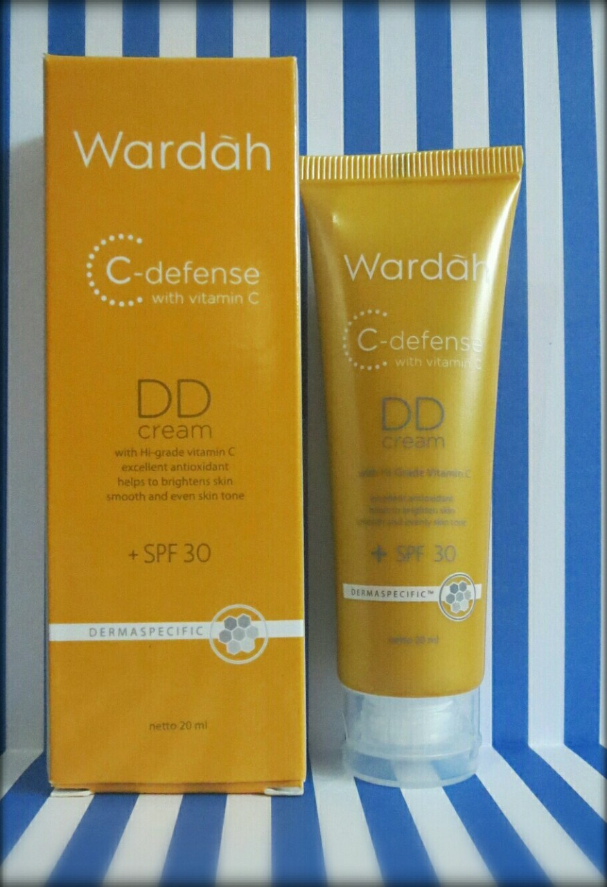 Review Wardah C Defense Dd Cream Re Mark A Blog Bb