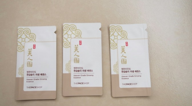 REVIEW: The Face Shop Myeonghan Miindo Heaven Grade Ginseng Essence