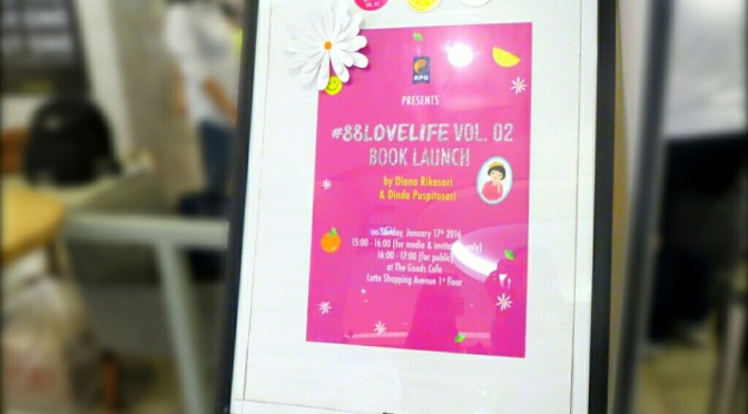 EVENT: So Much Fun at #88LOVELIFE Book Launching!
