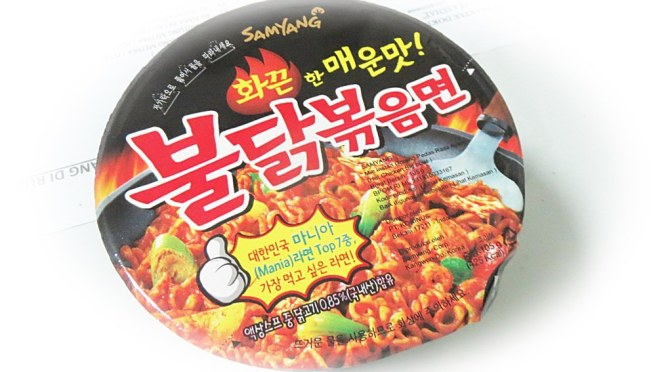 EAT: Samyang Noodle yang Super Nge-heits di Youtube
