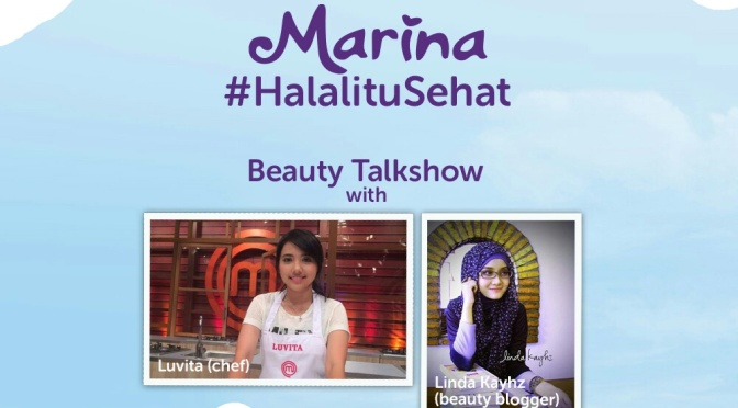 EVENT: Halal Itu Sehat with Marina
