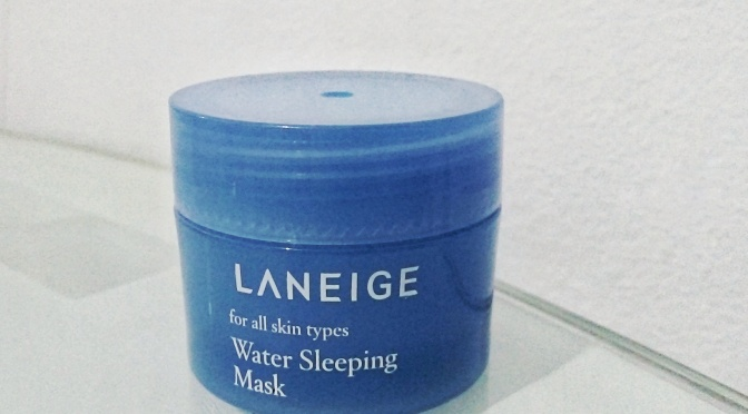 BEAUTY: Laneige Water Sleeping Mask