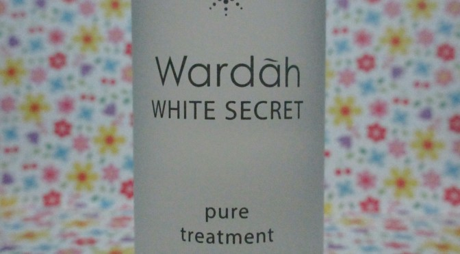 BEAUTY: Wardah White Secret Pure Treatment Essence