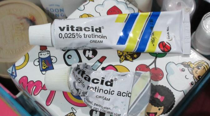 BEAUTY: Pengalaman Pakai Vitacid (Retin A)