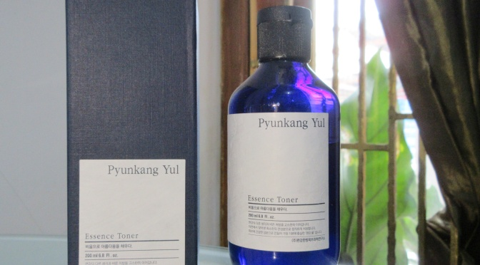 BEAUTY: Pyunkang Yul Essence Toner