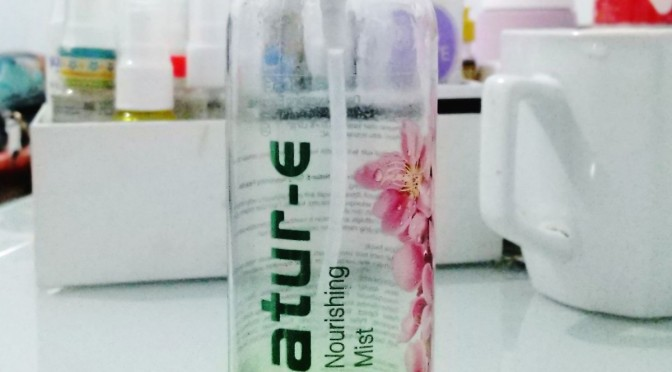 #EMPTIES: Nature-E Daily Nourishing Face Mist